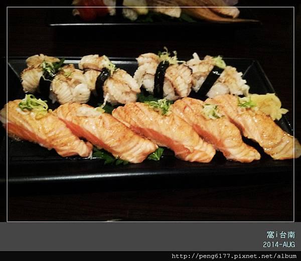 炙燒鰈魚 炙燒鮭魚肚握壽司_副本