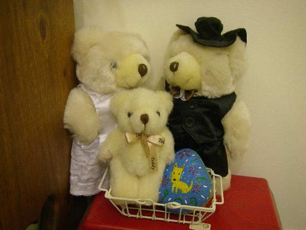 camily婚禮的小熊