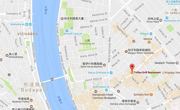 Trofea Grill Restaurant map.png