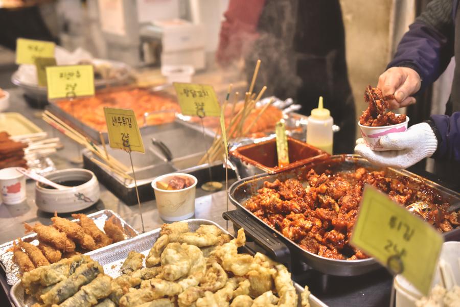 通仁市場美食