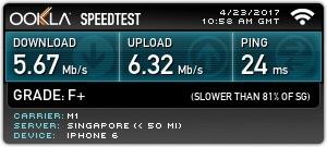 新加坡網卡測速