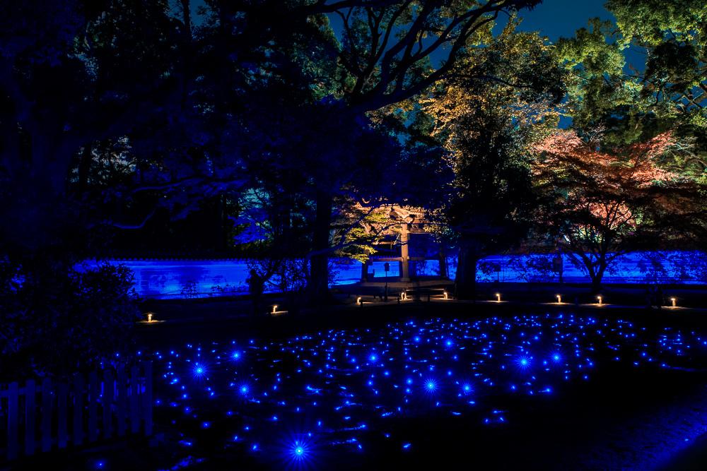 青蓮院夜間點燈