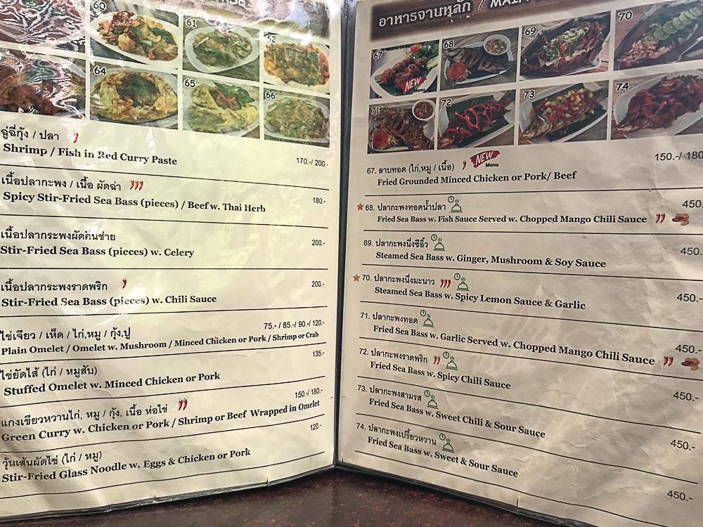 P.Kitchen菜單