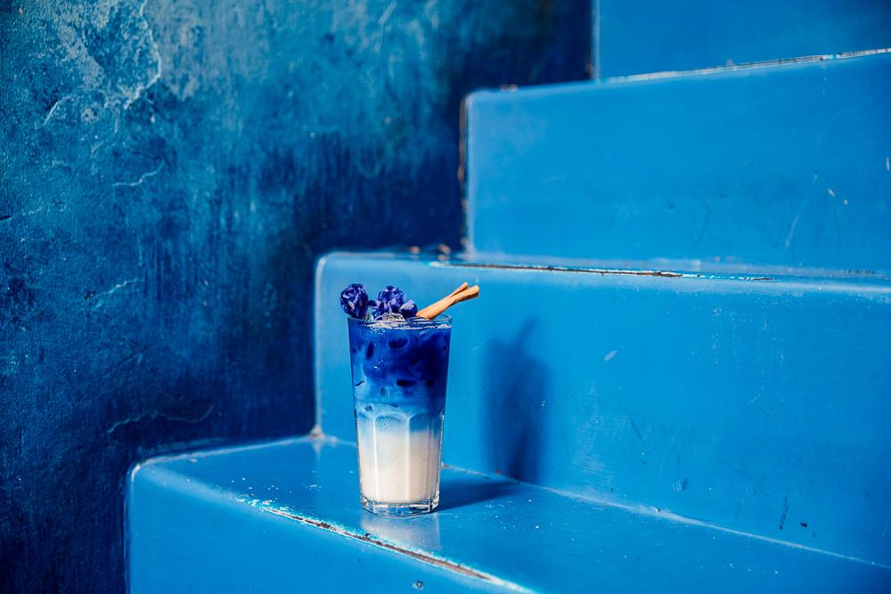 曼谷藍色咖啡