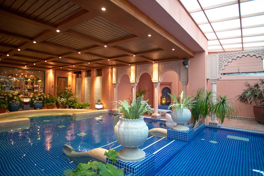 摩洛哥風泳池