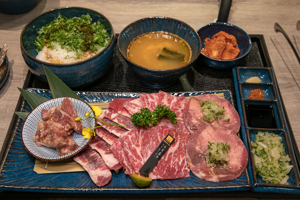 牛肉盛合套餐