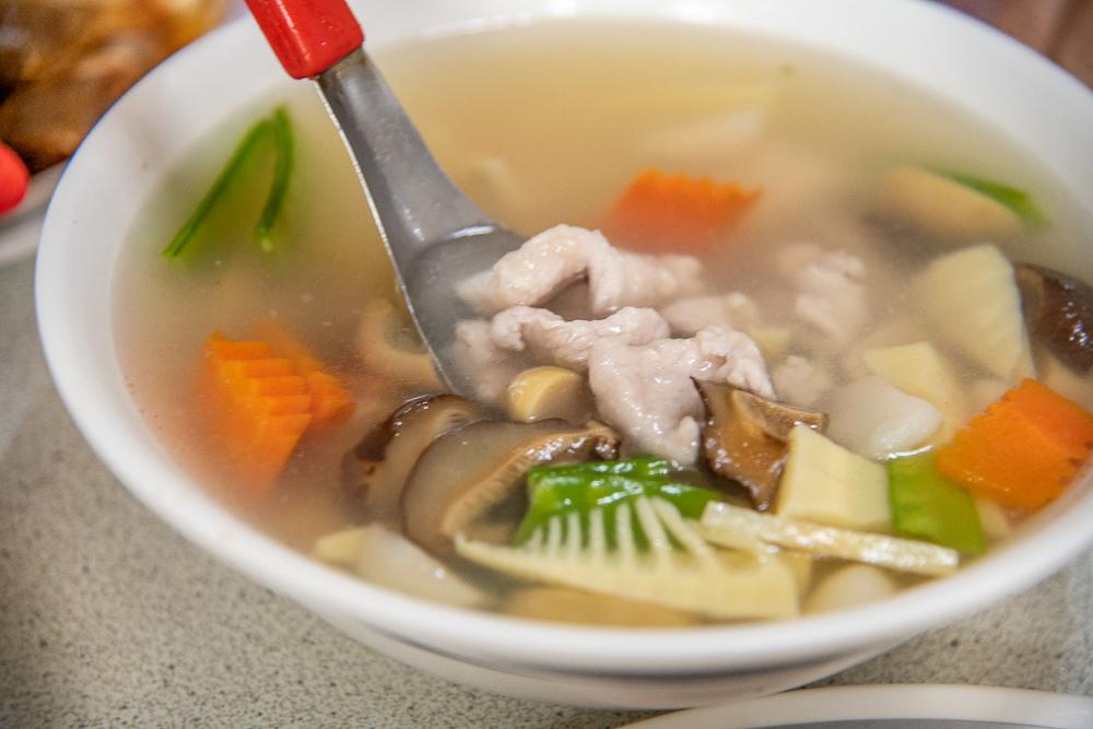 蘑菇赤肉湯