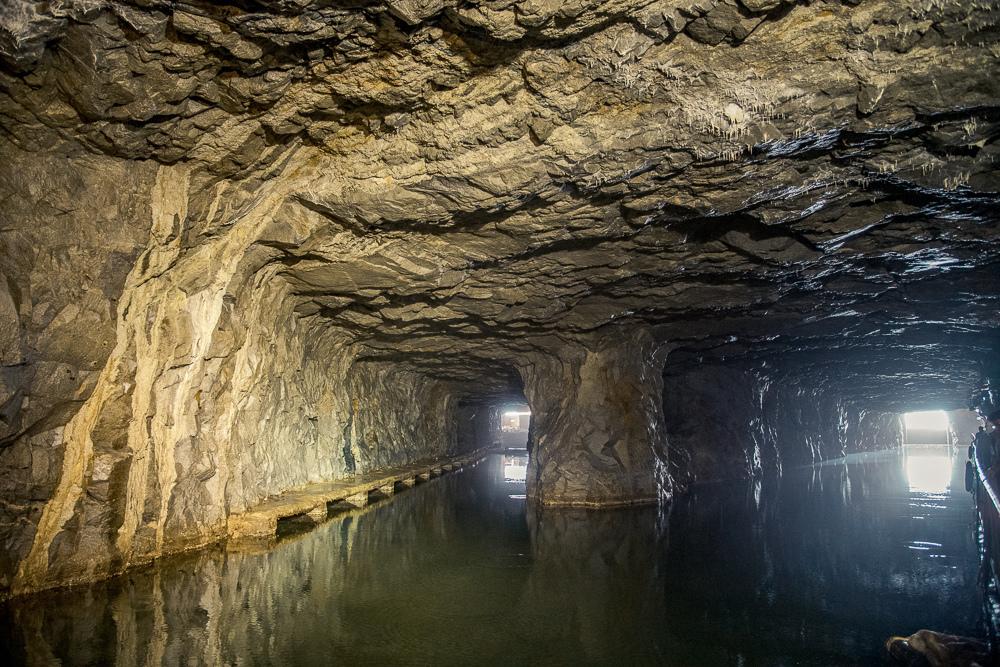 金門最美水上坑道