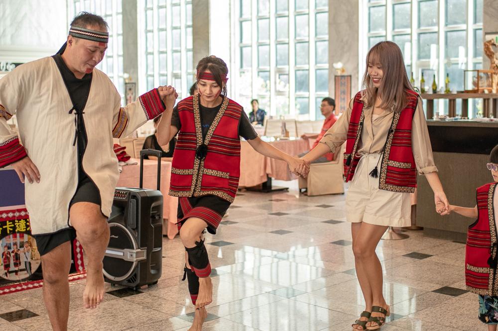 谷關統一渡假村 部落迎賓舞
