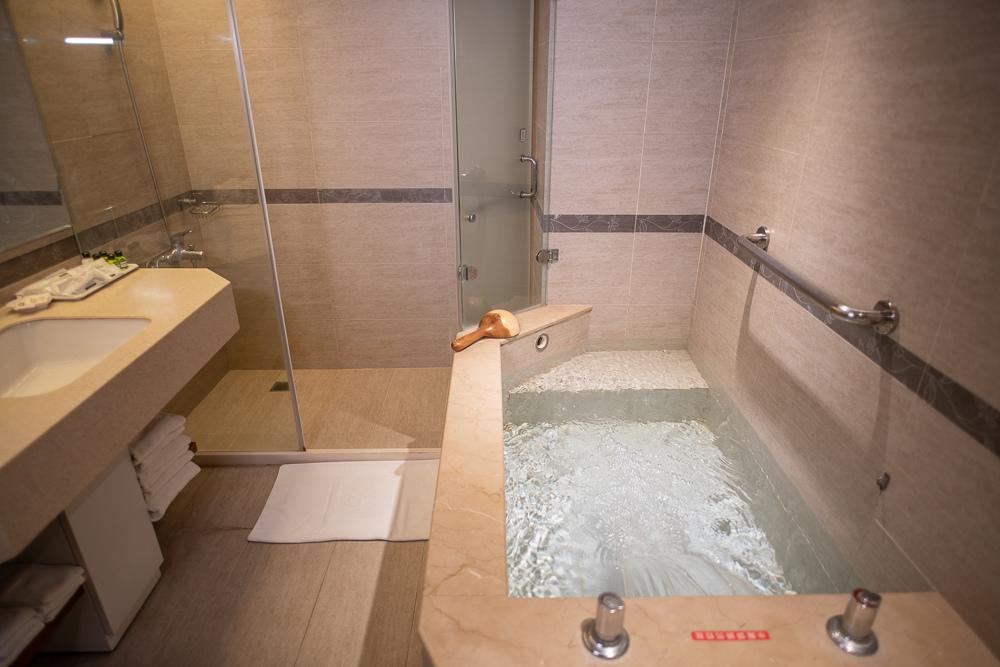 谷關統一渡假村 浴室