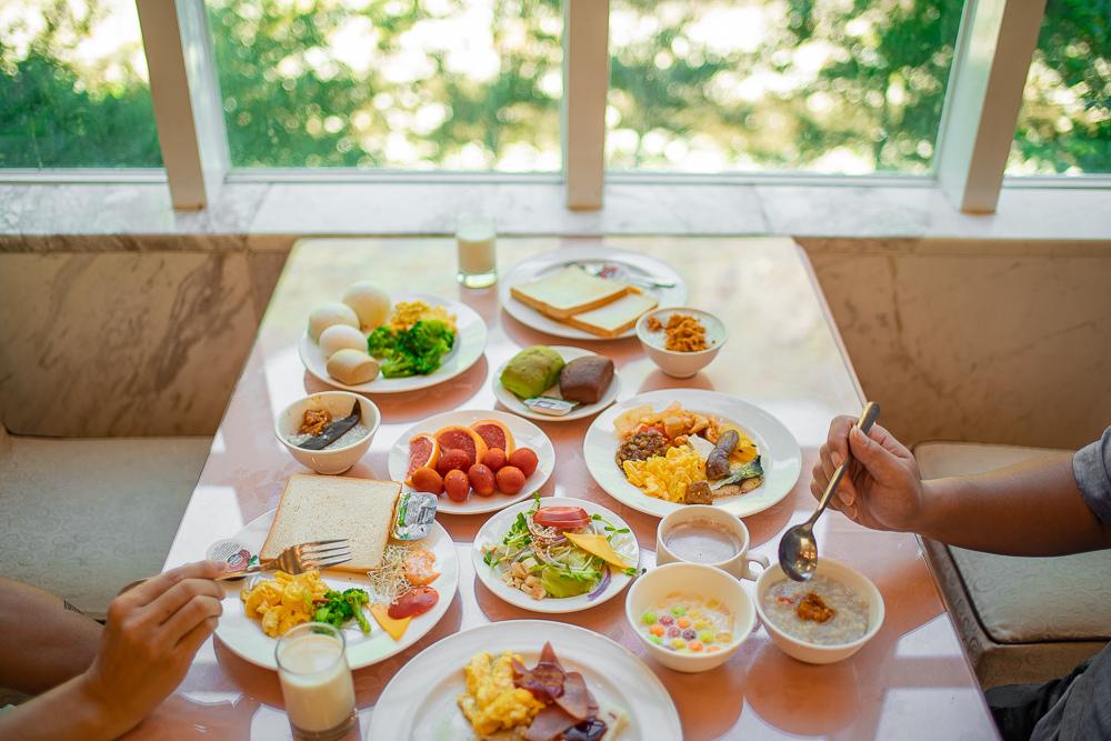 谷關統一渡假村 自助早餐