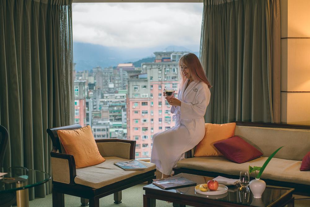 台北晶華酒店住宿
