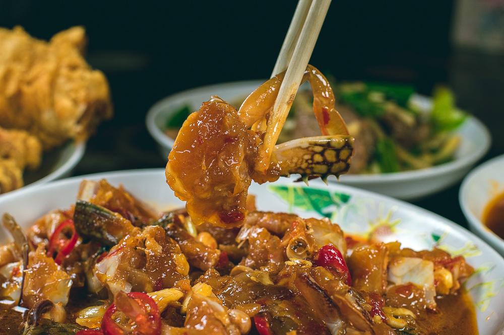 記德海鮮 高粱嗆蟹