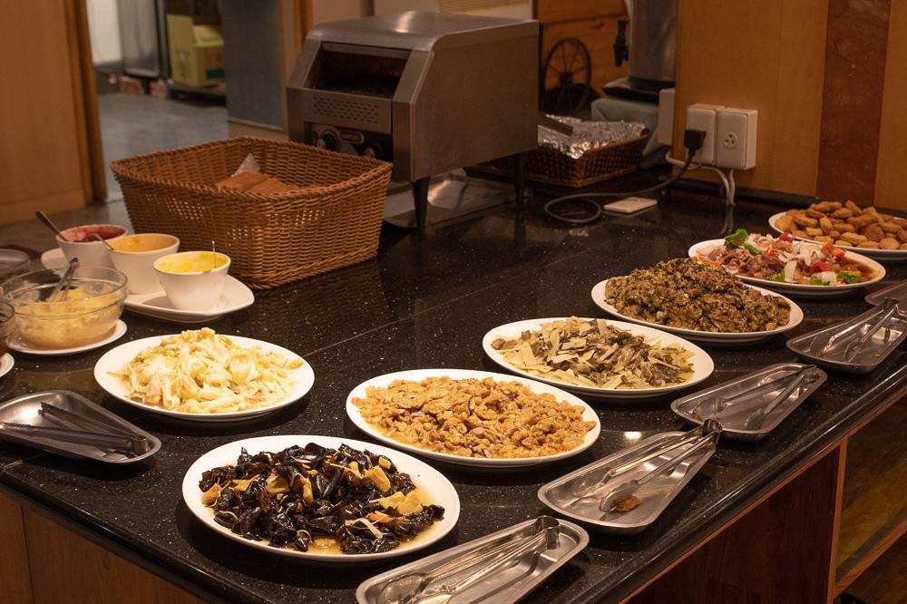 帝綸大飯店早餐
