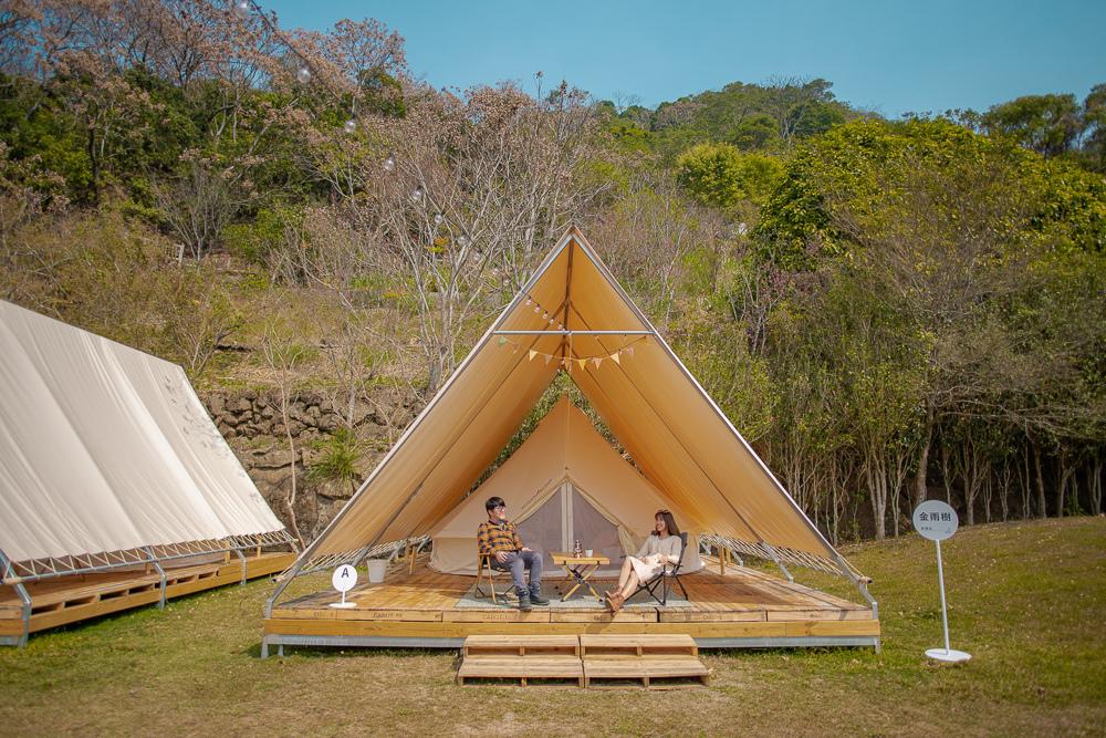 台中豪華露營
