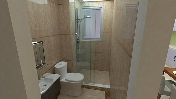 浴室彩現--2