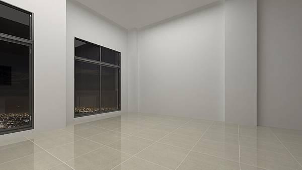 日光行館住宅空間模擬-夜晚1