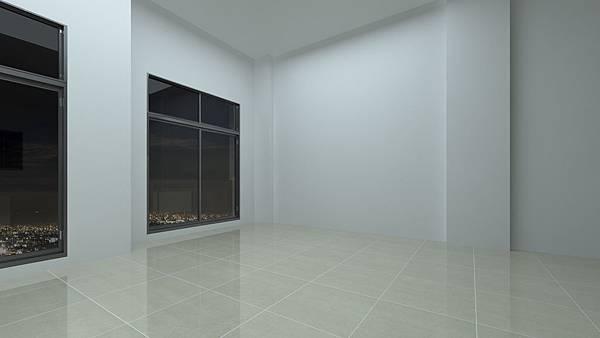 日光行館住宅空間模擬-夜晚2