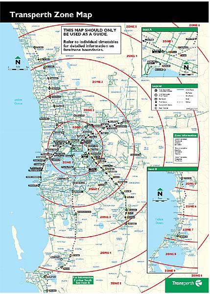 Transperth-Zone Map
