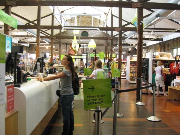 雪梨岩石區-遊客中心