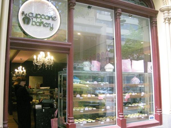 浪漫的杯子蛋糕小屋