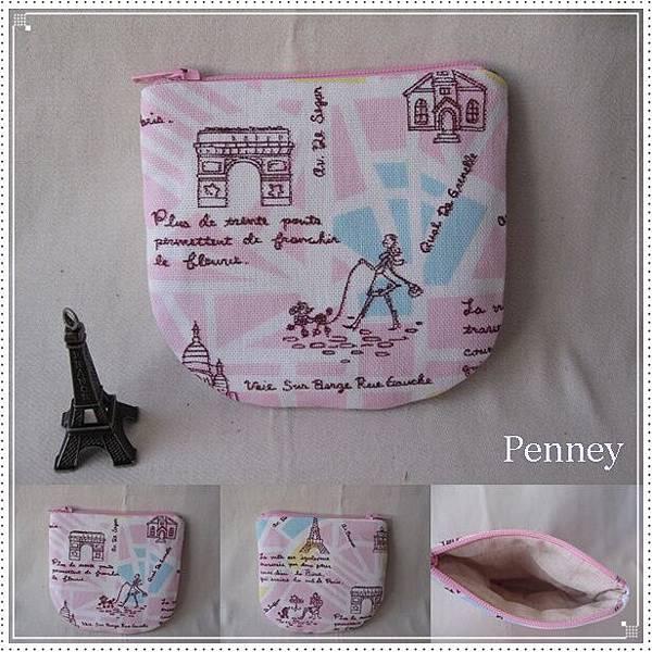 L410 110607 粉紅漫步巴黎城市零錢包.jpg