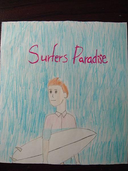 Cody Simpson的Surfers Paradise專輯封面