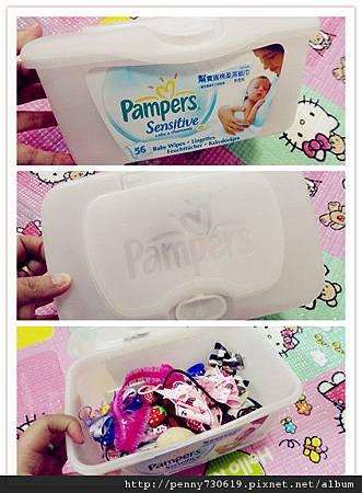 幫寶適濕紙巾(盒)