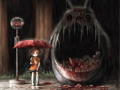 Horror Totoro.JPG