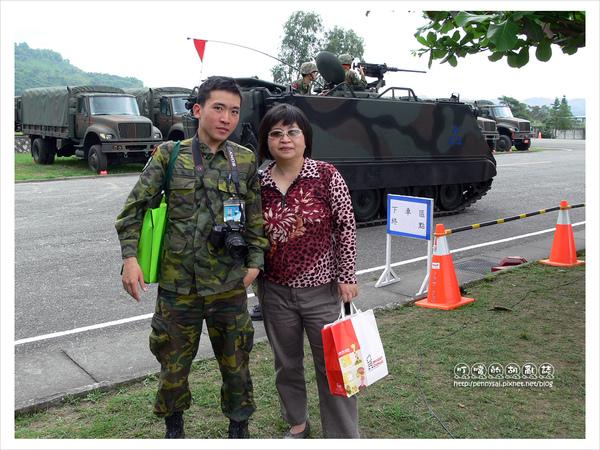 新兵日記-在全民國防日千里迢迢開車到台東看我的父母!