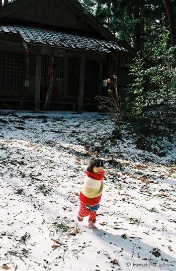 川島小鳥 - 「未來ちゃん」