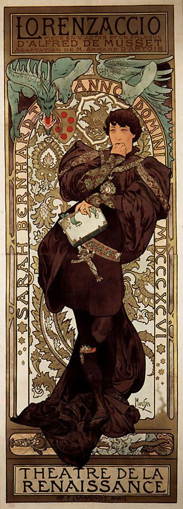 阿爾馮斯.慕夏(Alphonse Mucha) - Lorenzaccio
