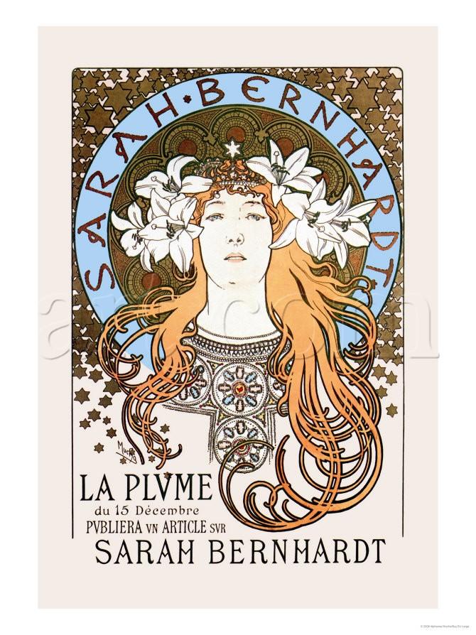 阿爾馮斯.慕夏(Alphonse Mucha) - 遠方的公主(La Princesse Lointaine)2.jpg