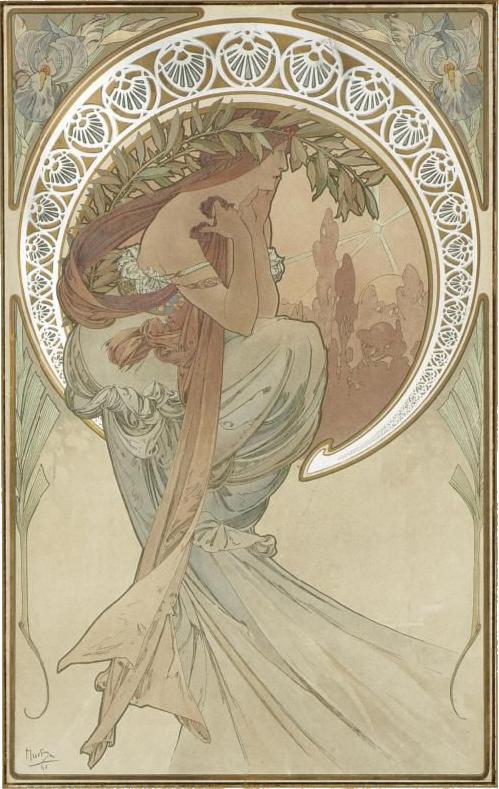 阿爾馮斯.慕夏(Alphonse Mucha) - 藝術系列.詩賦.jpg