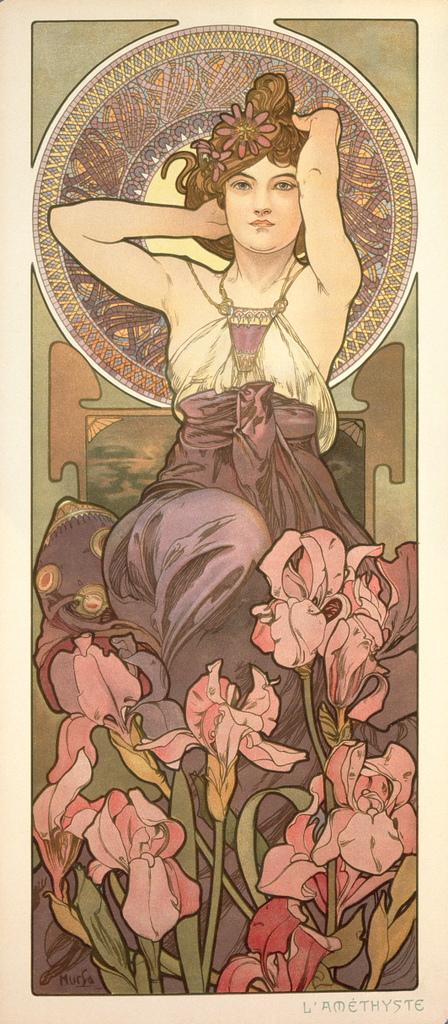 阿爾馮斯.慕夏(Alphonse Mucha) - 寶石系列.紫水晶.jpg