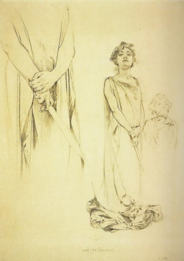 阿爾馮斯.慕夏(Alphonse Mucha) - 米蒂亞海報草稿(Medee).jpg
