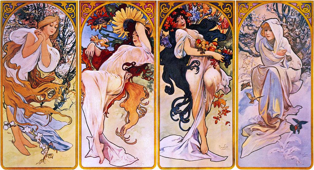 阿爾馮斯.慕夏(Alphonse Mucha) - 1897年的四季.jpg
