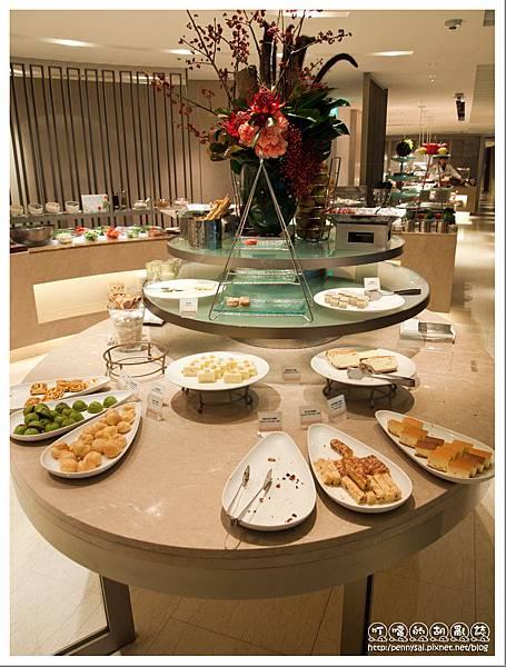 台北老爺大酒店 -  Le Café 甜點區.jpg