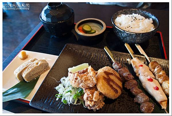 日式料理.燦雞 - B套餐.jpg