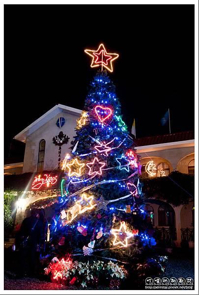 屏東.萬金聖母殿 - 聖誕樹