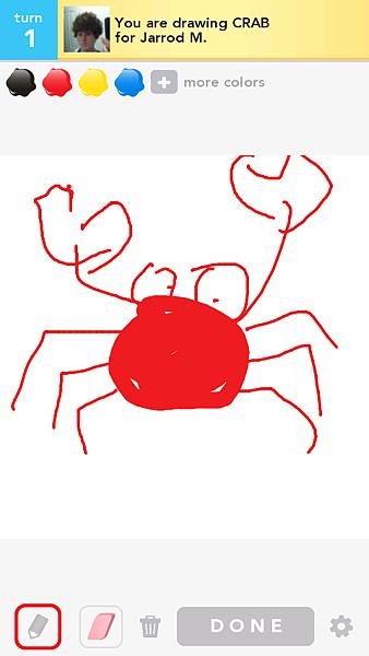 手機遊戲 - Draw Something