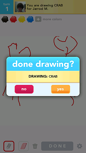 手機遊戲 - Draw Something