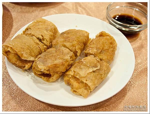 深坑假日飯店.悅 中餐廳 - 鮮蝦腐皮卷