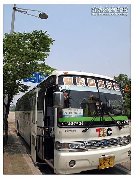 韓國之旅-我們的小巴.JPG
