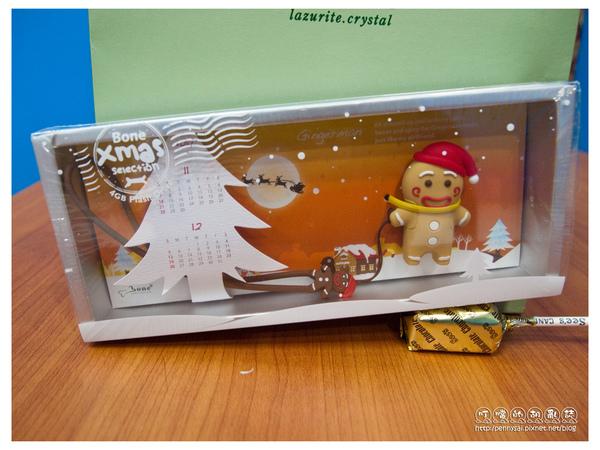 「薑餅人造型4G隨身碟」聖誕限定版1.jpg