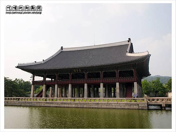 韓國之旅-景福宮慶會樓.JPG