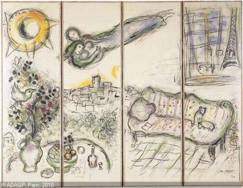 Marc Chagall - Paravent 1 (夏卡爾 - 屏風).jpg