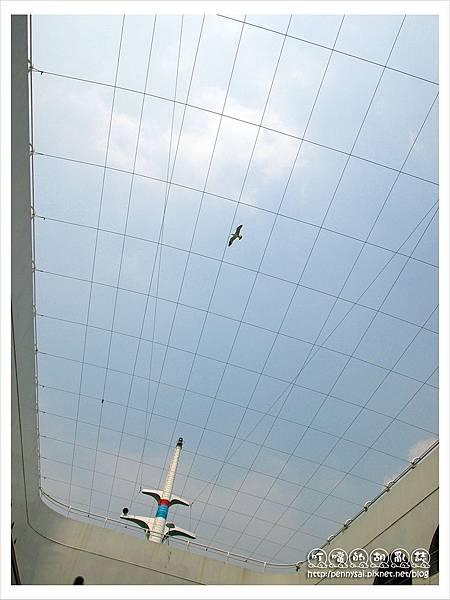 韓國之旅-渡輪上的天空.JPG