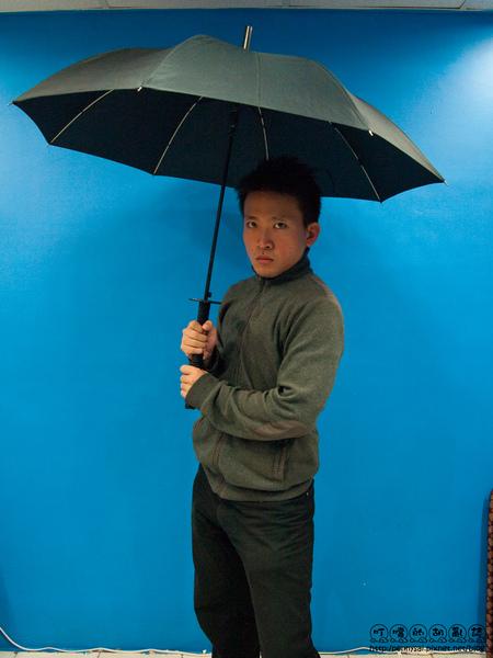武士刀傘model