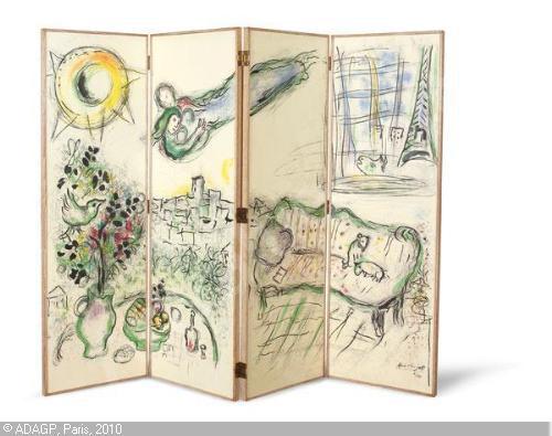 Marc Chagall - Paravent 3 (夏卡爾 - 屏風).jpg